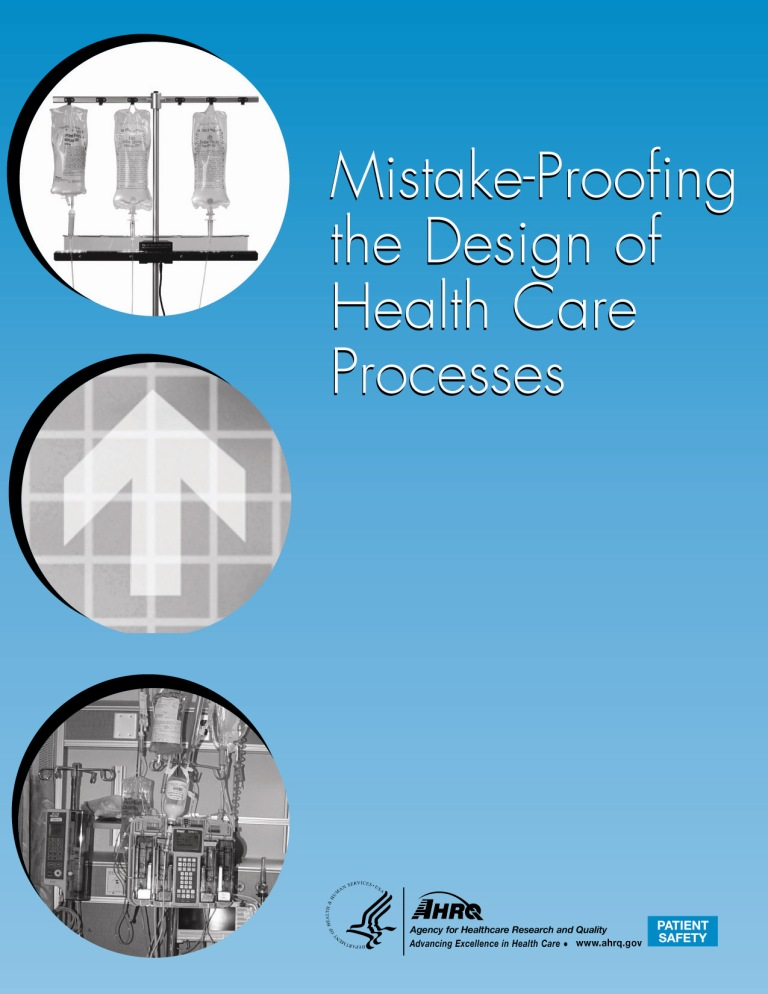 Mistake-proofing book cover image